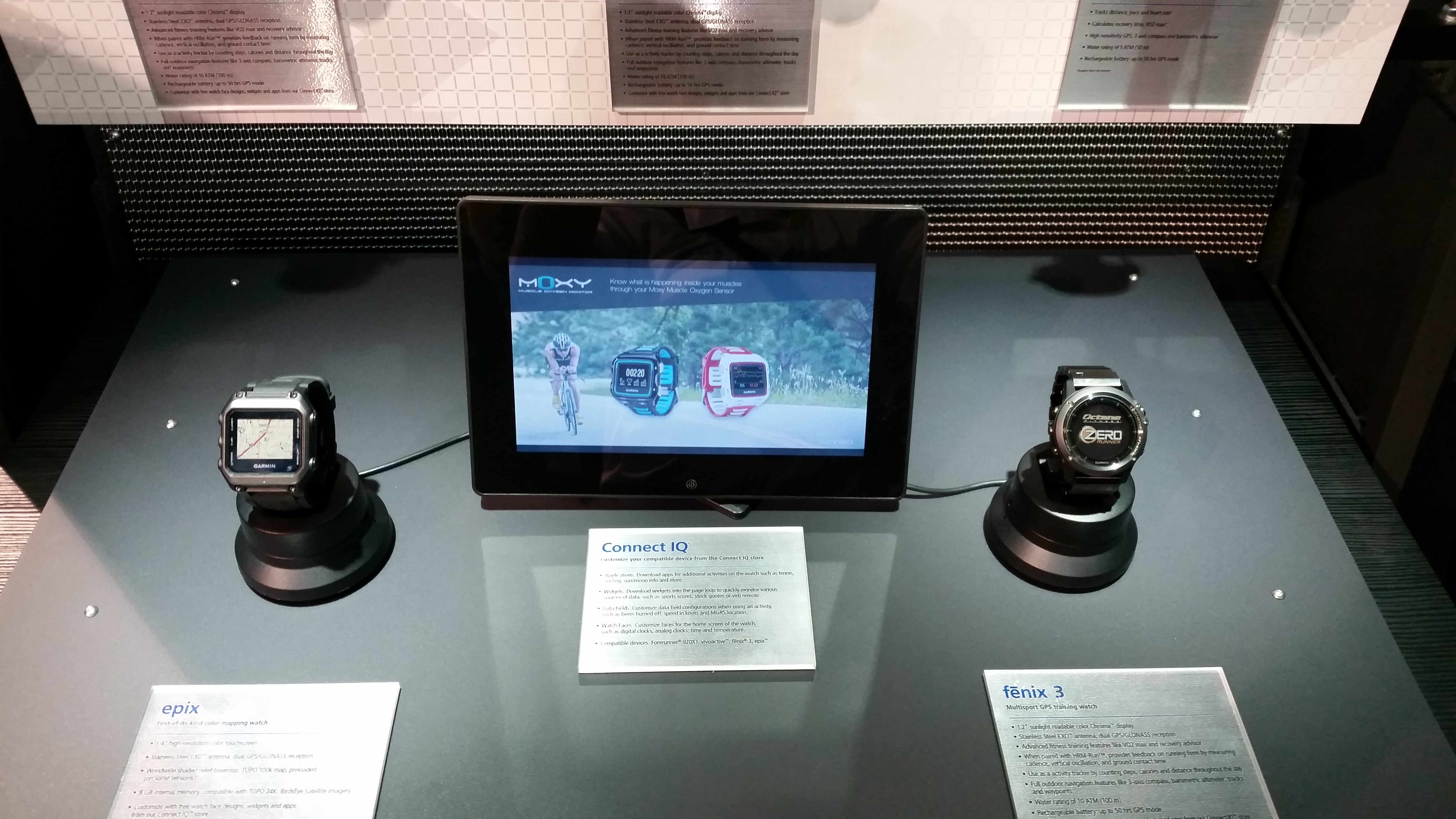 Moxy and ConnectIQ at CES