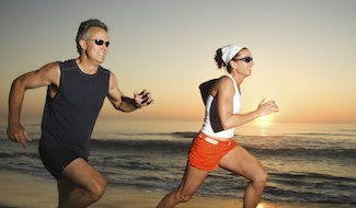 how interval training can burn lactic acid to increase motablisim and burn fat