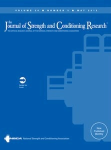 journal of strength and condition research