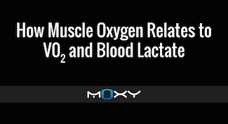 how muscle oxygen realtes to vo2 and blood lactate