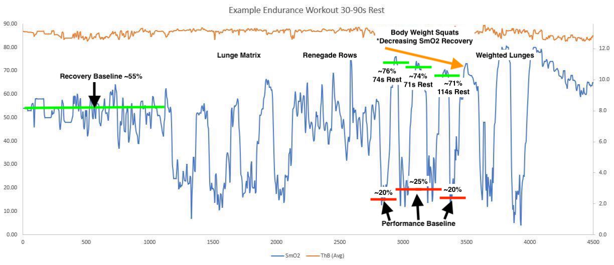 Endurance Workout Example 1 - body weight squats